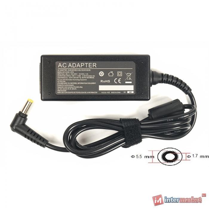Блок питания для ноутбуков PowerPlant ACER 220V, 19V 30W 1.58A (5.51.7)