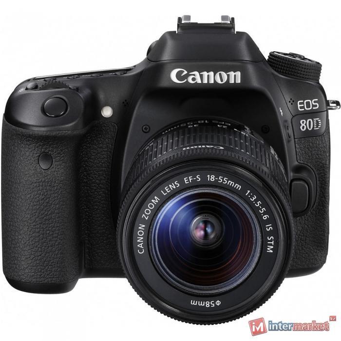 Зеркальная камера Canon EOS 80D kit 18-55mm f/3.5-5.6 IS STM