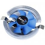 Кулер для процессора AeroCool Verkho i, Серебристо-Голубой