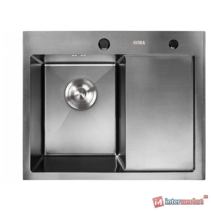 Кухонная мойка AVINA HM 5848 L black