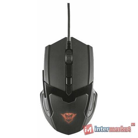 Мышь Trust GXT 101 Gaming Mouse Black USB