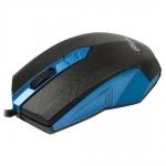 Мышь проводная RITMIX ROM-202 BLUE