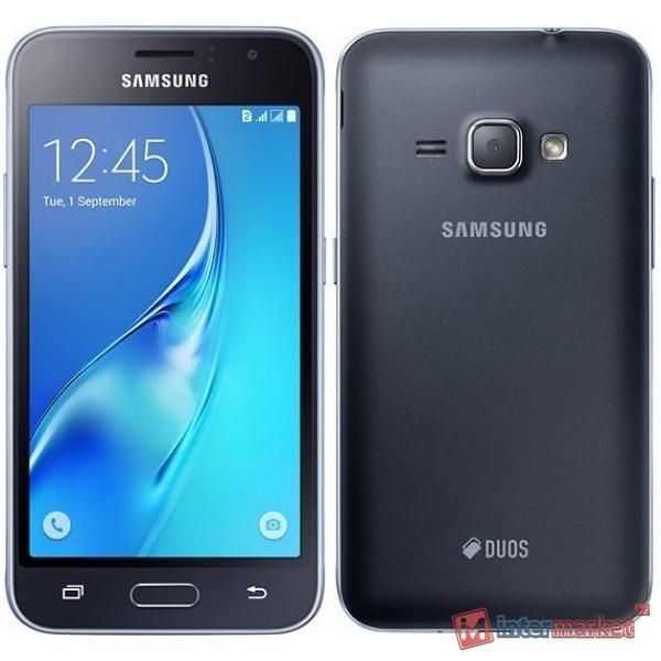 Смартфон Samsung Galaxy J1 (2016) SM-J120F/DS, Black